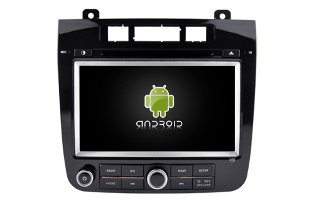 VW Touareg 2 DVD Android 9 autorádio s WIFI, GPS, USB, BT