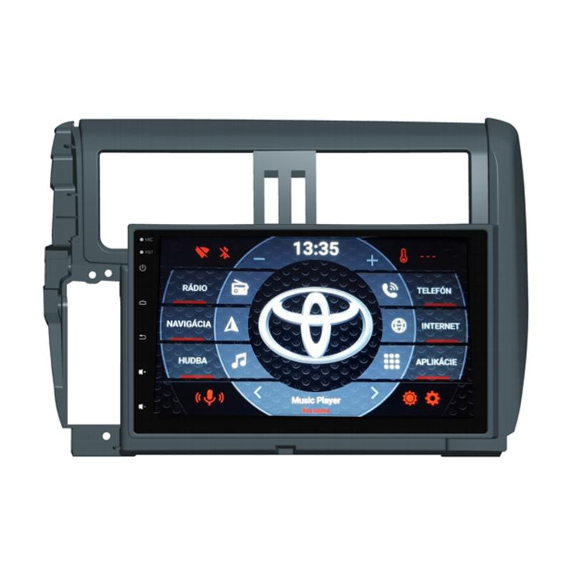 Toyota Land Cruiser 150 Android 10 autorádio s WIFI, GPS, USB, BT