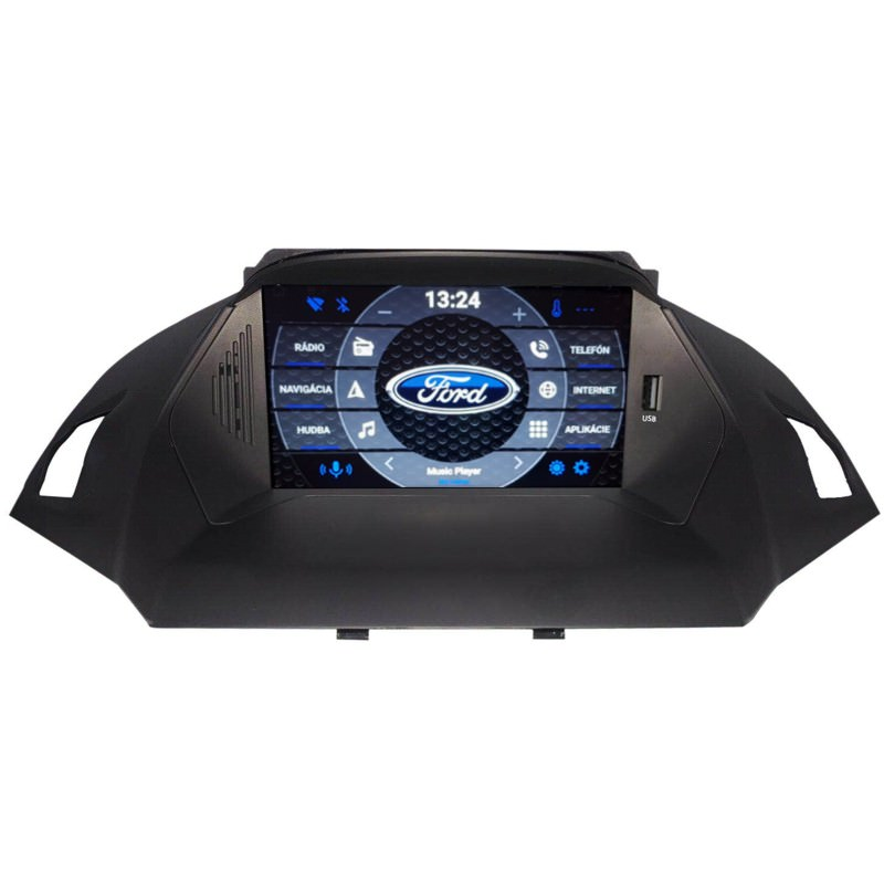 Ford Kuga, C-Max Android 10 autorádio s WIFI, GPS, USB, BT