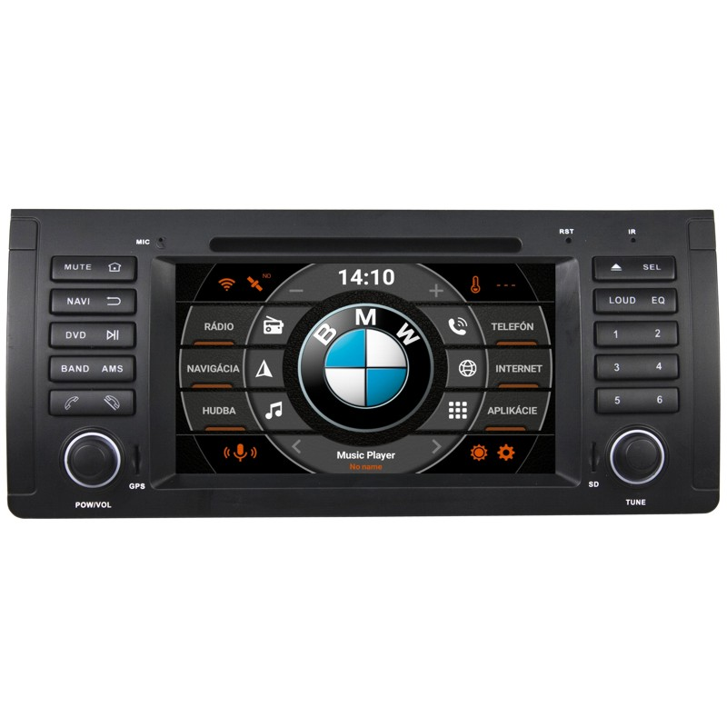 BMW E39,38,53 Android 10 autorádio s WIFI, GPS, USB, BT