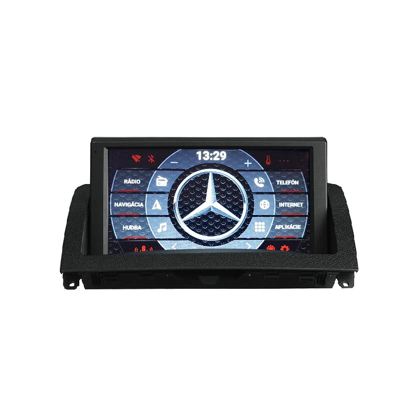 Mercedes C W204 Android 7.1 autorádio s WIFI, GPS, USB, BT