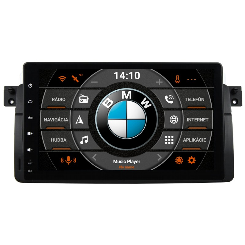 BMW E46 Android 10 autorádio s WIFI, GPS, USB, BT