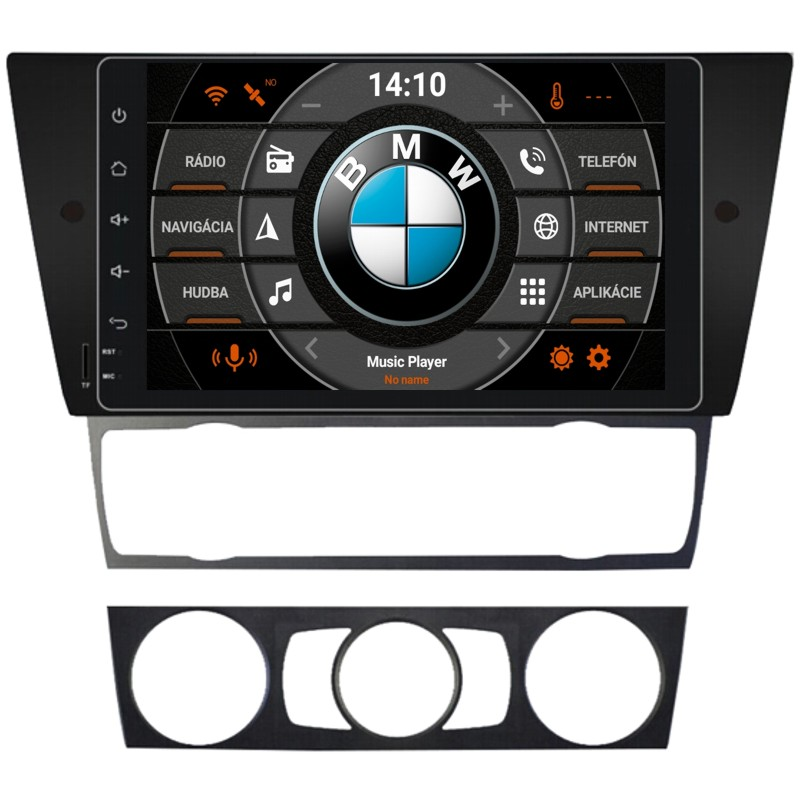 BMW E90 Android 10 autorádio s WIFI, GPS, USB, BT