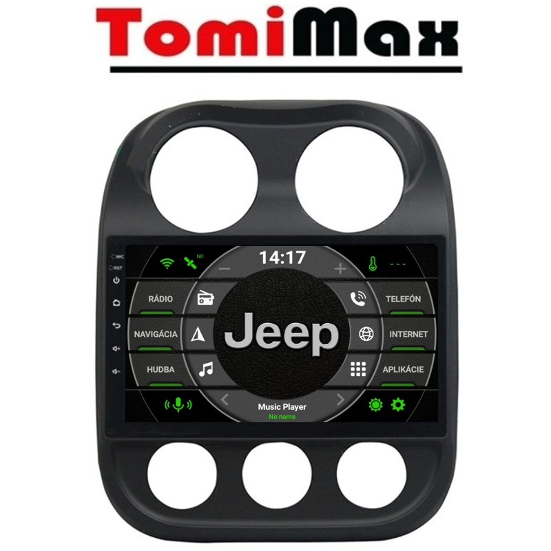 Jeep Compass Android 10 autorádio s WIFI, GPS, USB, BT
